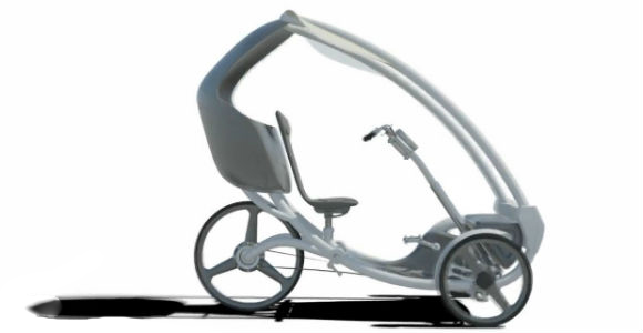 Triciclo eléctrico y autónomo