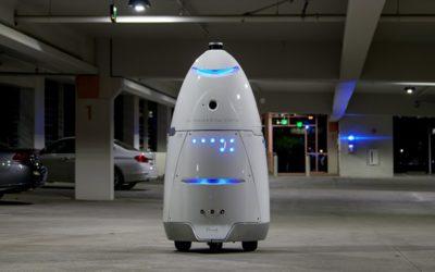 el Robot de Uber para vigilar sus parking